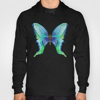 Butterfly Blues Hoody