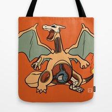 Charizard Anatomy Tote Bag