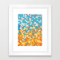 SunAngle Framed Art Print