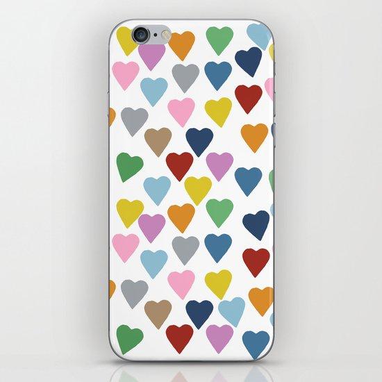 Hearts #3 iPhone & iPod Skin