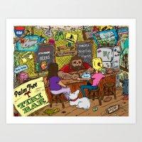 Tiki Bar Art Print