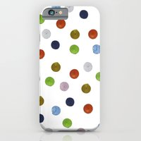 iPhone & iPod Case featuring Pinpoint Dots by Project M