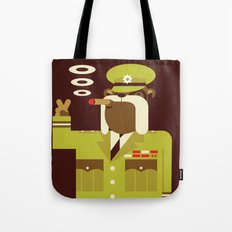 Major Winston Bulldog Tote Bag