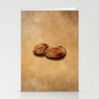 Still Life: Potatoes Stationery Cards