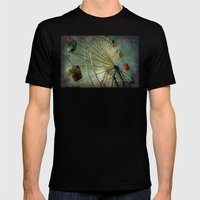 Synergy Mens Fitted Tee Black SMALL