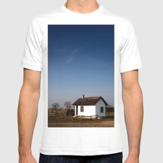 Home. Mens Fitted Tee White SMALL