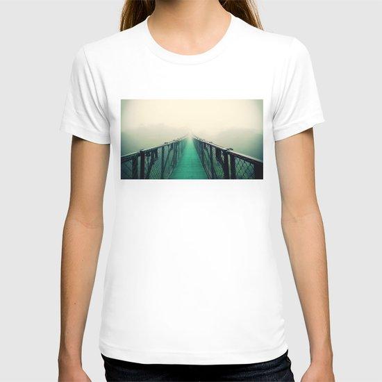 suspension bridge T-shirt