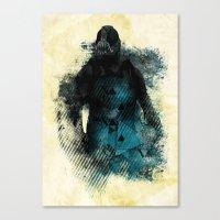 Abstract BANE Canvas Print