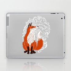 The Fox Says Laptop & iPad Skin
