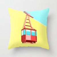 To the Sky Throw Pillow