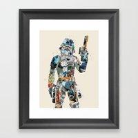 Modern Trooper Framed Art Print