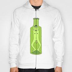 man in a bottle Hoody