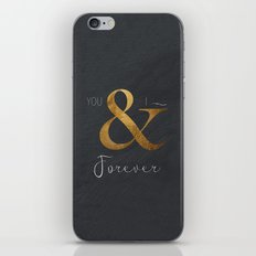 Typography Forever  iPhone & iPod Skin