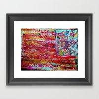 M A E R D N A C I R E M … Framed Art Print