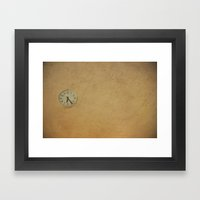 Time Up!! Framed Art Print