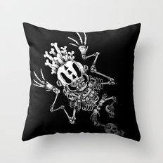 SKULL'eton Throw Pillow