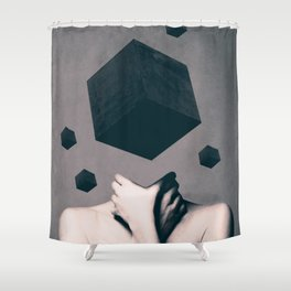 Shower Curtain - Think Outside The Box  - dada22