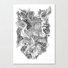 The Six Swans Canvas Print