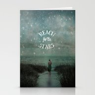 Reach For The Stars Stationery Cards