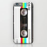 Old School Cassette Tape iPhone 6 Slim Case
