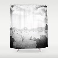 Cimitērium 1680 Shower Curtain