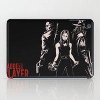 The Baddest Slayer Alive iPad Case