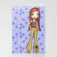 Hippie Heart Stationery Cards
