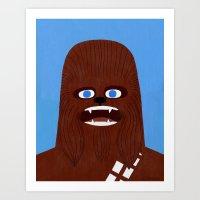 Chewbacca Art Print