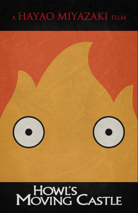 Howl's Moving Castle Poster Art Print