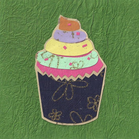 Paper Cakes Art Print