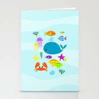 Under The Sea Stationery Cards