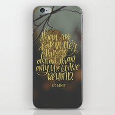 Better Things Ahead iPhone & iPod Skin