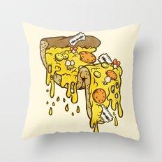 Cheezy Throw Pillow