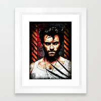 The Weapon XFactor Framed Art Print