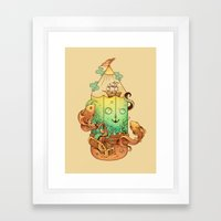 Joy Of Creativity Framed Art Print
