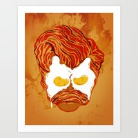 All the Bacon and Eggs Art Print