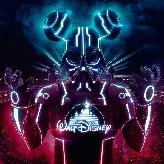 Disney Darth Art Print