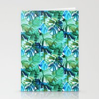 Palm Leaf Green Stationery Cards