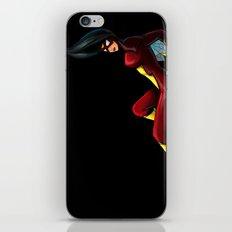 SpiderWoman iPhone & iPod Skin