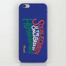 #Mandela iPhone & iPod Skin