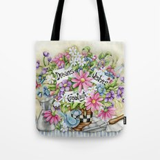 Dreams Wishes And Creativity Tote Bag