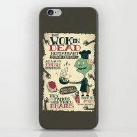 The Wok In Dead (v.2) iPhone & iPod Skin
