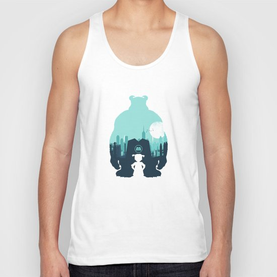 Welcome To Monsters, Inc. Unisex Tank Top