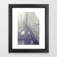 59th Street Bridge... Framed Art Print