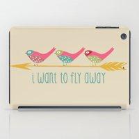 Fly Away iPad Case