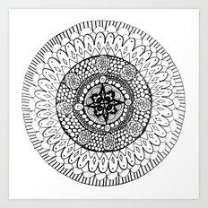 Mandala 5 Art Print