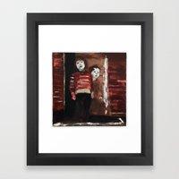 Strange Fascination Framed Art Print
