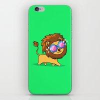 Fabulous Lion iPhone & iPod Skin