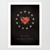 The Count Of Monte Crist… Art Print