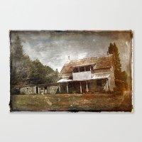 Maison numero huit-cent soixante-six Canvas Print